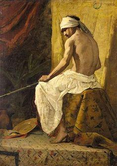 French artist Jean-Joseph Benjamin-Constant (1845-1902)