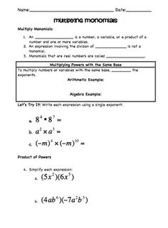 Worksheet Operations With Polynomials Worksheet multiply polynomials worksheet 4 math madness pinterest so you have to teach operations with guided notes and practice