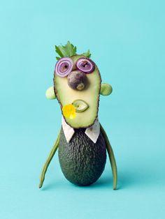 Les animaux en fruits et légumes de Carl Kleiner animaux legumes cark kleiner 07