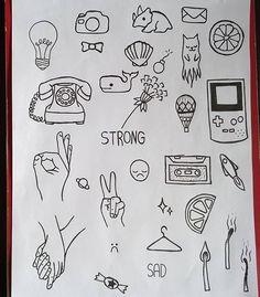 Not the ok symbol. Kritzelei Tattoo, Doodle Tattoo, Doodle Drawings, Doodle Art, Easy Drawings, Small Doodle, Rune Tattoo, Guitar Tattoo, Finger Tattoos