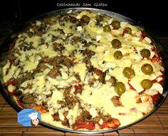 Cozinhando sem Glúten: Pizza da Gi