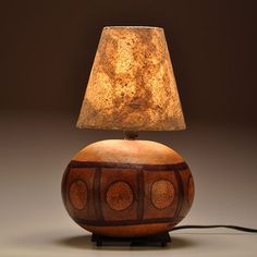 Gourd Lamp Oriental Design