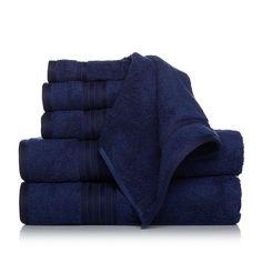 Concierge Collection 100% Turkish Cotton 6-piece Towel Set -