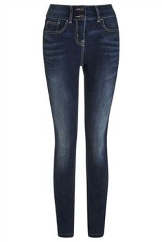 b4f3ca3d4df Buy High Waist Enhancer Skinny Jeans from the Next UK online shop Women s  High Rise Jeans