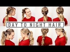 Kayley Melissa 7 days ponytail tutorial - While I'm waiting for my hair to be long and glossy again, I learn in advance how to have fun trying new hairdos. High Ponytail Hairstyles, Heatless Hairstyles, Great Hairstyles, Everyday Hairstyles, Hairstyles Videos, Ponytail Haircut, Makeup Hairstyle, Ponytail Styles, Short Hairstyles
