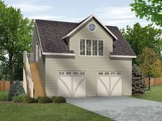 Car Garage With Loft Homes I Love Pinterest Car