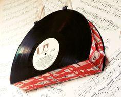 Shaken Not Stirred  Vintage Record Handbag w by tuppencehapenny, £60.00