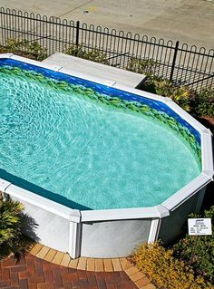 Above Ground Pools are the most effective alternative for resident who want a swimming pool however aren't ready for the much more costly choice of putting in an in-ground pool. Above Ground Swimming Pools, Above Ground Pool, In Ground Pools, Container Pool, Summer Time, Landscaping, Deck, Loft, Lounge