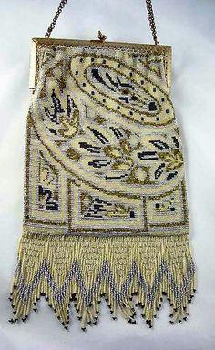 purse, 1920's