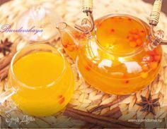 Едим Дома кулинарные рецепты от Юлии Высоцкой   Праздничный чай из облепихи с апельсином рецепт 👌 с фото пошаговый