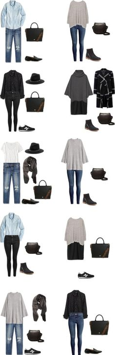 What to Wear on a trip to the Pacific Northwest Outfit Options 11-20 #travellight #packinglight #travel #traveltips