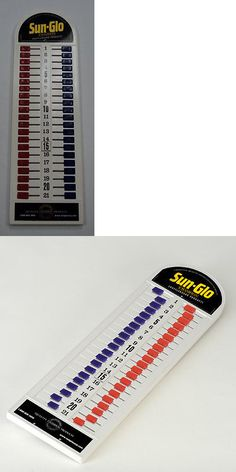 Shuffleboard 79777: Sun-Glo Shuffleboard All Plastic Scoreboard - Red/Blue BUY IT NOW ONLY: $62.99