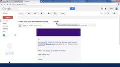 Cara forward email di Yahoo  #email #yahoo #tutorial #ymail #forward #video #youtube #tips