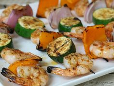 Emeril is the man when it comes to kickin' it up a notch! That's why I LOVE using a homemade version of Emeril's Essence to make these delicious Grilled Shrimp Kabobs. This easy-to-make seasoning b...