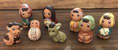 Un favorito personal de mi tienda Etsy https://www.etsy.com/es/listing/253642152/nativity-scene8-pieces