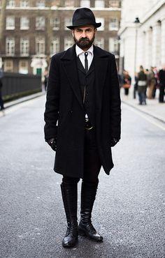 Street Style Photographs by FashionBeans: Florin Dobre