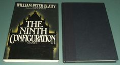 The Ninth Configuration by William Peter Blatty  1st edition in dust jacket