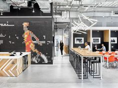 Nike Ups Its Street Cred in NYC With a New Office by Studios Architecture – Office İnterior Workspaces Nike Office, Sports Office, Startup Office, Interior Design Magazine, Office Interior Design, Office Interiors, Office Designs, Studios Architecture, Architecture Office