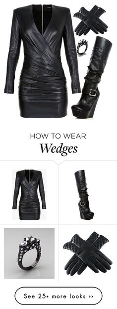 """""""Don't Mess With Me"""" by avamancuso on Polyvore featuring Balmain and avamancuso"""