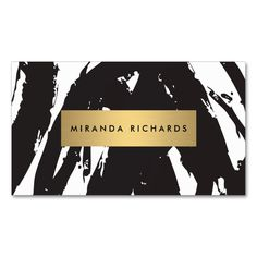 Abstract Black Brushstrokes for Makeup Artist Double-Sided Standard Business Cards (Pack Of 100). This great business card design is available for customization. All text style, colors, sizes can be modified to fit your needs. Just click the image to learn more!