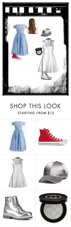 """""""Wizard of oz #1"""" by g-kub ❤ liked on Polyvore featuring J.Crew, Converse, Markus Lupfer, H&M, Lugz and Gucci"""