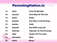 8 Best Mesh Rashi Baby Girl Names With Meaning images in