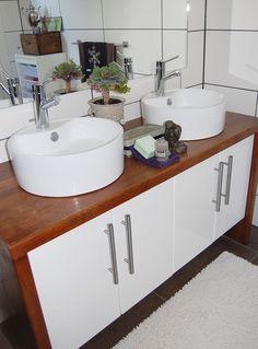PERNILLES INTERIØRSYSLER! Double Vanity, Sink, Bathroom, Home Decor, Sink Tops, Washroom, Vessel Sink, Decoration Home, Room Decor