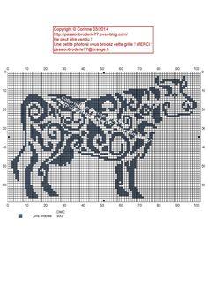 Vache tribal