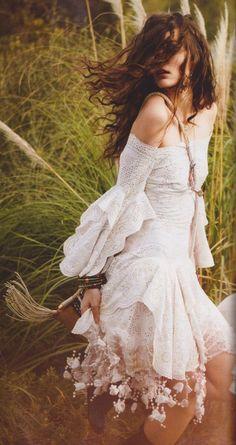 Boho dress Alexander McQueen