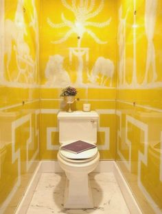 Yellow Bathroom Decorating Ideas Bsm farshout.com