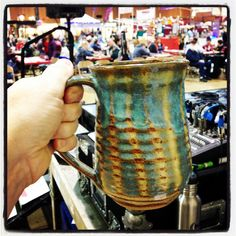Mug by Jon King Holiday Market, Specialty Foods, Gift Guide, Kitchens, Pottery, Mugs, Cooking, Tableware, Ceramica