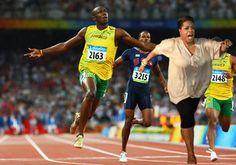 Oprah schools Usain Bolt..