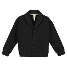 Gray Label - Shawl Collar Cardigan, nearly black