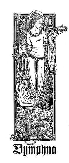 St. Dymphna   Patron Saint of the Mentally Ill & Emotionally Disturbed