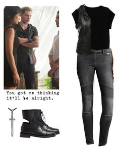 Jace Wayland - shadowhunters by shadyannon on Polyvore featuring polyvore fashion style Isabel Marant MICHALSKY AllSaints Achilles Ion Gabriel S.W.O.R.D. clothing