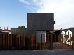 love the fence! The Lily Street House by ODR Architects and Life Space Journey