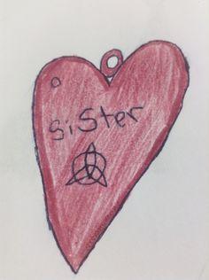Sisterly love charm