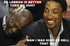 snotty pippen vs scottie pippen | Point 2: Jordan & Scottie Pippen vs. D.Wade, Kobe and LeBron: