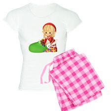 Santa's Little Elf Pajamas