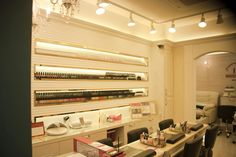 Nail salon in seoul. Korea