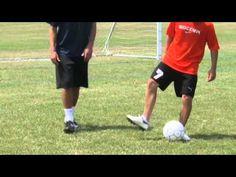 Soccer Tips : Dribbling Moves in Soccer for Beginners - YouTube