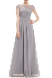 Lace Splicing Backless Prom Dress
