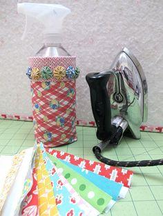 Bee In My Bonnet: Tutorial on spray bottle cover