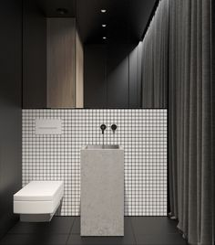 Luxury Master Bathroom Ideas is categorically important for your home. Whether you pick the Small Bathroom Decorating Ideas or Dream Master Bathroom Luxury, you will make the best Luxury Bathroom Master Baths Wet Rooms for your own life. White Bathroom, Modern Bathroom, Small Bathroom, Bathroom Ideas, Master Bathroom, Shower Ideas, Restroom Design, Bathroom Interior Design, Interior Livingroom