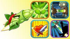 Plants Vs Zombies 2 - Super Asparagus Power Up! (PvZ 2 Chinese)