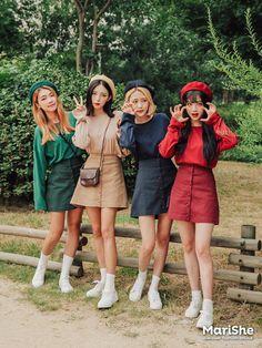 Korean Fashion Similar Look Pin by Aki Warinda Marish ♥ fashion trend book! Korean Fashion Similar Look Pin by Aki Warinda Korean Fashion Trends, Korean Street Fashion, Korea Fashion, Kpop Fashion, Asian Fashion, Girl Fashion, Fashion Looks, Fashion Outfits, Womens Fashion