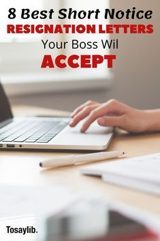 8 Short Notice Resignation Letters Your Boss Will Accept - Tosaylib Make More Money, Make Money From Home, Extra Money, Quitting Job, Creative Jobs, Part Time Jobs, Work From Home Jobs, Earn Money Online, Debt