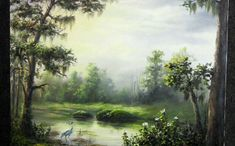 Do you struggle to add light in your painting only to have it look flat? Watch Kevin as he shows you different tips and tricks that can help you add light and depth to your paintings in this swamp scene. For more information about oil paint, go to www.paintwithkevin.com