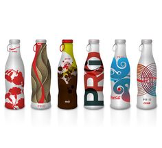 Coca-Cola Bottle Designs by little fury