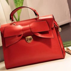 Red and a bow  #poshmark #fashion #shopping #style #Handbags